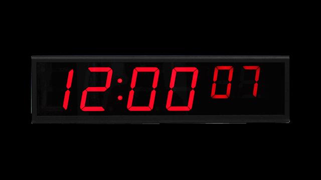 Horloge numérique NTP
