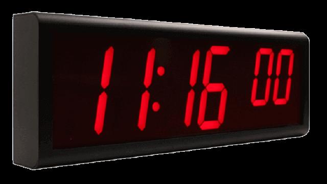 Horloges murales numériques NTP